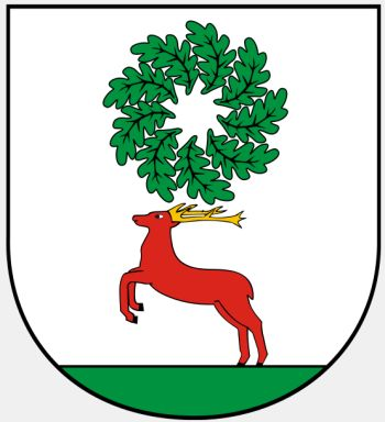 Arms of Piła (county)