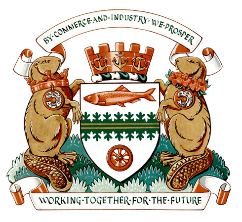Arms (crest) of Port Coquitlam
