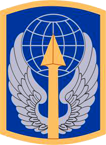 Arms of 166th Aviation Brigade, US Army