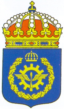 Coat of arms (crest) of the Air Force Technical School, Swedish Air Force