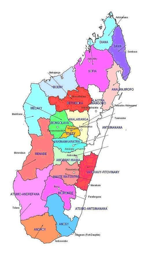 Category Regions Of Madagascar Heraldry Of The World