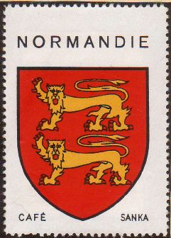 normandie blason armoiries de normandie coat of arms. Black Bedroom Furniture Sets. Home Design Ideas