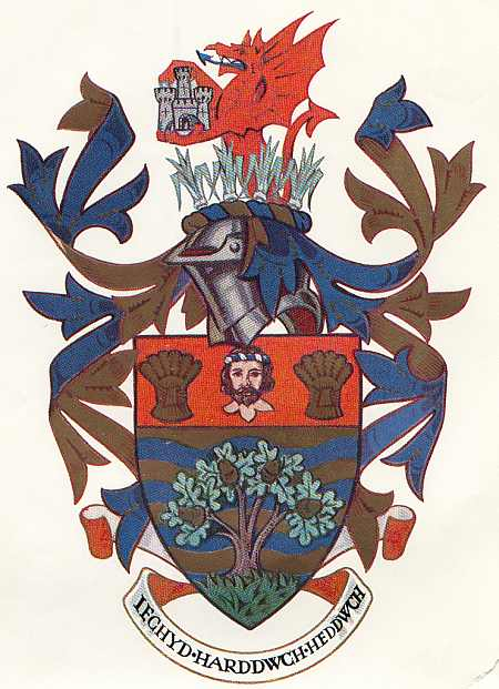 Arms (crest) of Colwyn