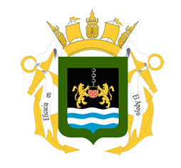 Coat of arms (crest) of the General Directorate of Naval Materiel, Navy of Uruguay