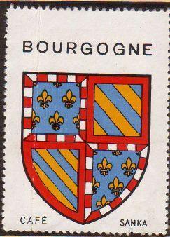 bourgogne blason armoiries de bourgogne coat of arms. Black Bedroom Furniture Sets. Home Design Ideas