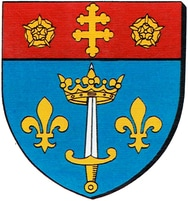 Arms of Basilica of St Joan of Arc, Domrémy-la-Pucelle