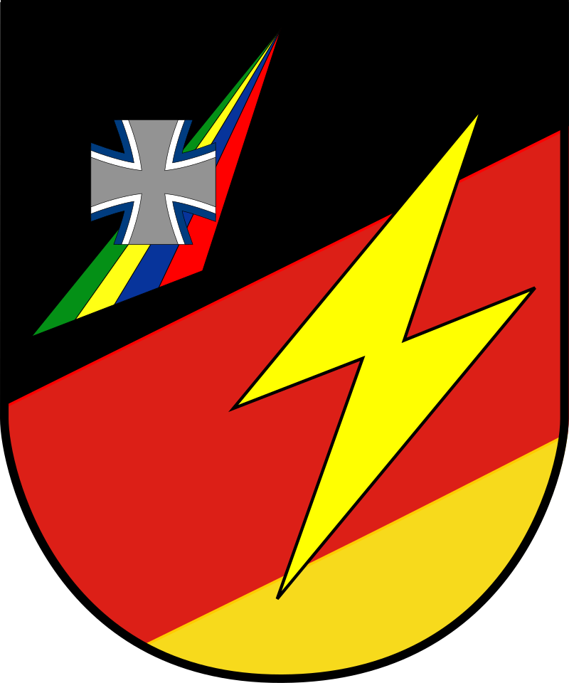 Coat of arms (crest) of the Strategic Intelligence Command, Germany