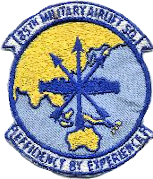 Coat of arms (crest) of the 85th Airlift Squadron, US Air Force