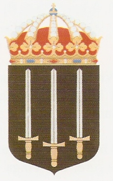 Coat of arms (crest) of the HMS Tirfing, Swedish Navy