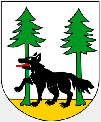 Arms of Pisz (county)