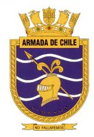 Coat of arms (crest) of the Submarine Simpson (SS-21), Chilean Navy