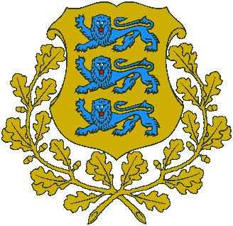 Arms of National Arms of Estonia