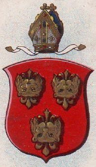 Arms (crest) of Diocese of Hereford