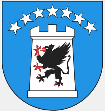 Arms (crest) of Kartuzy (county)