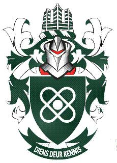 Rand Afrikaans University - Arms (crest) of Rand Afrikaans University - Wapen van Rand Afrikaans University