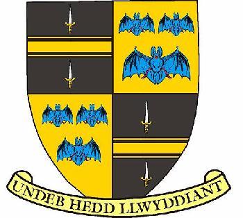 Brecknockshire - Coat of arms (crest) of Brecknockshire