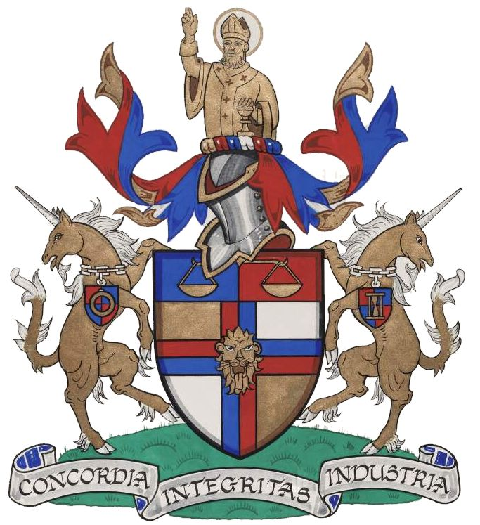 Arms of National Association of Goldsmiths of Great Britain and Ireland