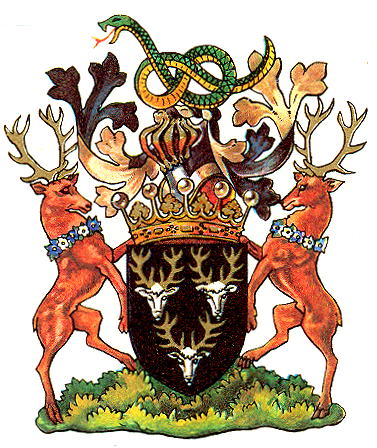 Arms (crest) of Devonshire