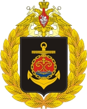 Coat of arms (crest) of the Baltic Fleet, Russian Navy