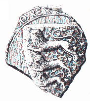 The seal of King Knud.