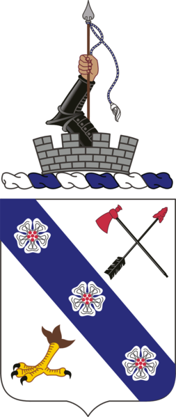 Arms of 8th Infantry Regiment, US Army