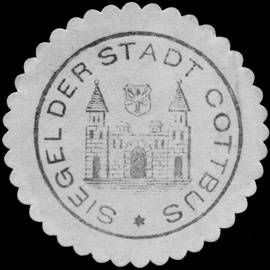 Seal of Cottbus