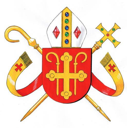 Arms (crest) of Diocese of Copenhagen (Catholic)