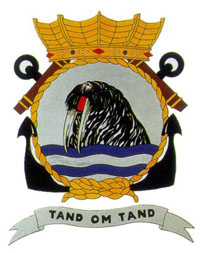 Coat of arms (crest) of the Zr.Ms. Walrus, Netherlands Navy