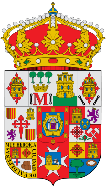 Arms (crest) of Ciudad Real (province)