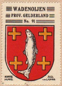 Wadenoijen - Wapen van Wadenoijen / coat of arms (crest ...