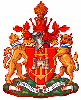 Stockton-on-Tees - Coat of arms (crest) of Stockton-on-Tees