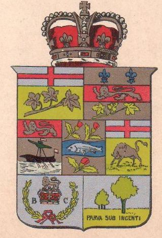 National Arms Of Canada Coat Of Arms Crest Of National Arms Of Canada