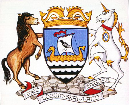 Arms (crest) of Shetland Islands