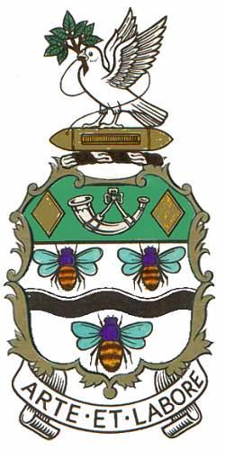 Details about  /Lancashire County Council Coat Of Arms Member Wall Plaque Vintage