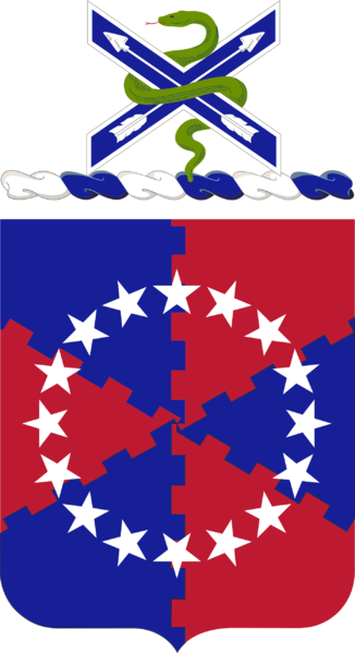Coat of arms (crest) of the 62nd Air Defense Artillery Regiment, US Army