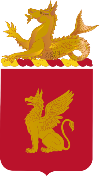 Coat of arms (crest) of the 91st Coast Artillery Regiment, US Army