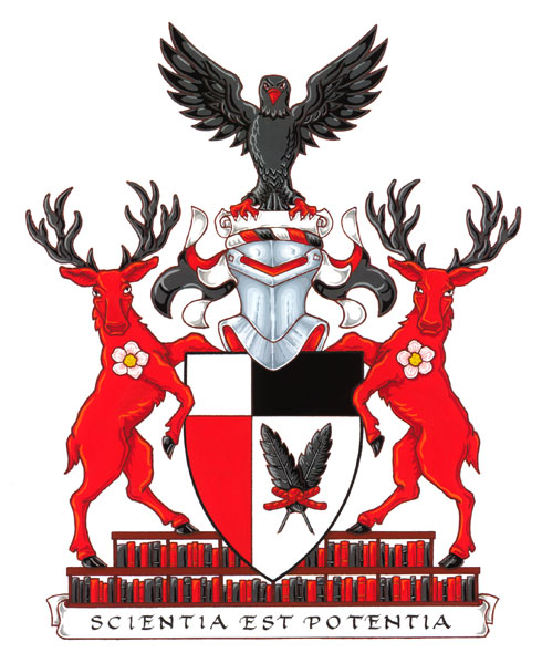 Arms of Penhold Crossing secondary school