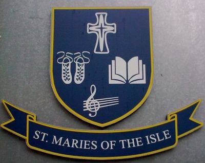 Arms of St. Maries of the Isle School (Cork)
