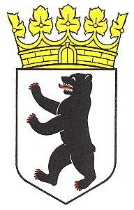 berlin - wappen von berlin - coat of arms of berlin crest - armoiries de berlin