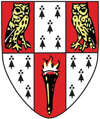 Arms (crest) of Hughes Hall College (Cambridge University)