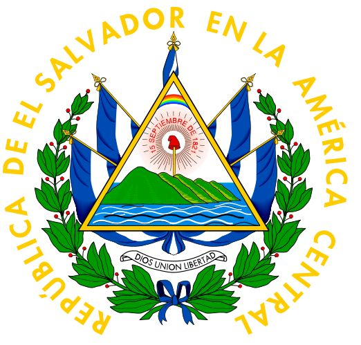 National Arms Of El Salvador Heraldry Of The World