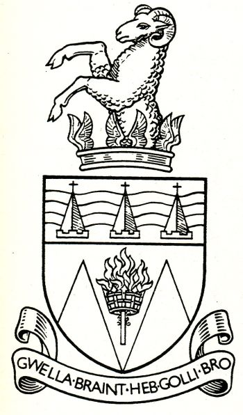 Arms (crest) of Vaynor and Penderyn