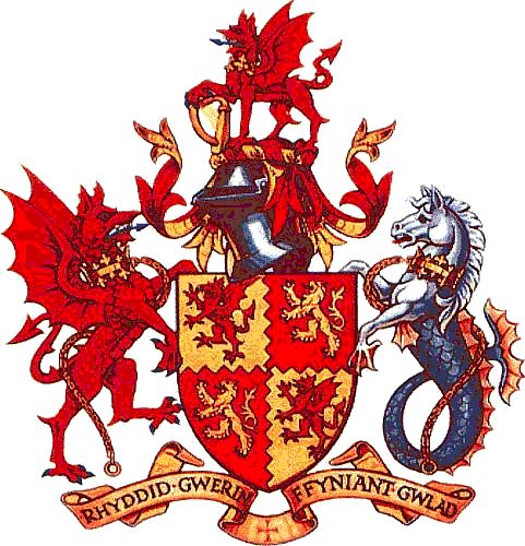Arms (crest) of Carmarthenshire