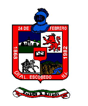 Arms (crest) of General Escobedo