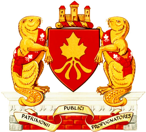 Arms of Heritage Canada Foundation