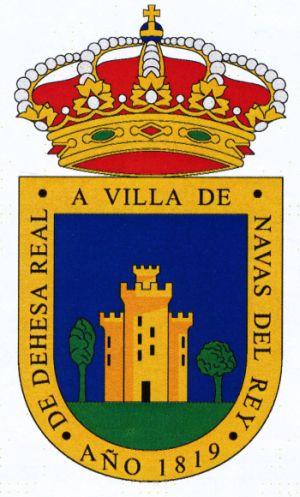 Navas del rey escudo de navas del rey coat of arms - Pavimarsa navas del rey ...
