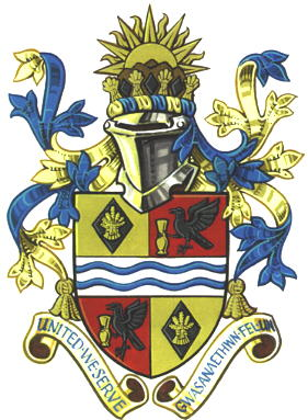 Arms (crest) of Torfaen
