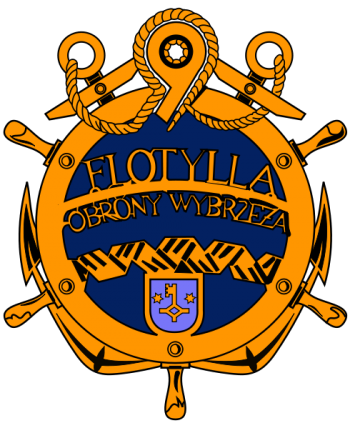 Coat of arms (crest) of the 9th Coastal Defence Flotilla, Polish Navy