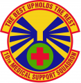 10th Medical Support Squadron, US Air Force.png