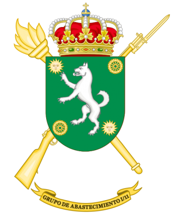 Coat of arms (crest) of the Supply Group I-11, Spanish Army
